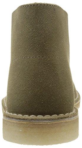 Clarks Originals Inicialização Deserto, Botas Mens Botas Eixo Curto E Ankle Boots, Cinza (lobo Camurça) Bege (trufa