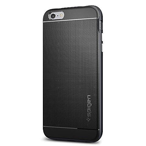 Coque iPhone 6s Plus, Spigen Coque iPhone 6 Plus / 6S Plus [Neo Hybrid] Premium Bumper [Metal Slate] Protection complete absorption des chocs coque pour iPhone 6 Plus (2014) / 6s Plus - Metal Slate (SGP11664)