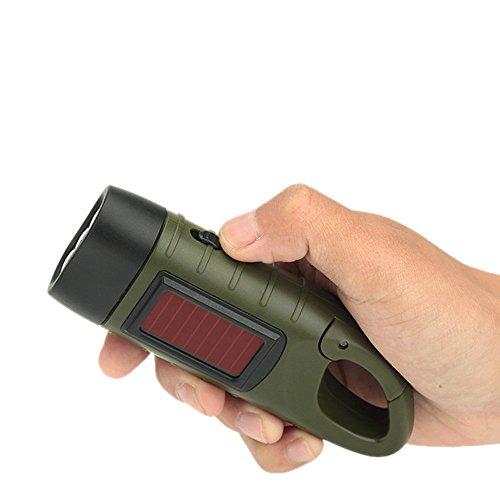 TATX Taschenlampenlicht der Taschenlampen-Taschenlampe der Taschenlampe LED-Handkurbel-Generator im Freien im Freien, das traditionelles Design klettert