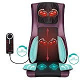 Naipo Luxury Massage Chair Pad Back Massager Massage Seat Cushion with Heat Air Compression Vibration for Ultimate Stress Relief of Neck Full Back Thighs and Hips