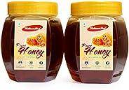 Wellness Shot Honey, 1Kg Pack of 2