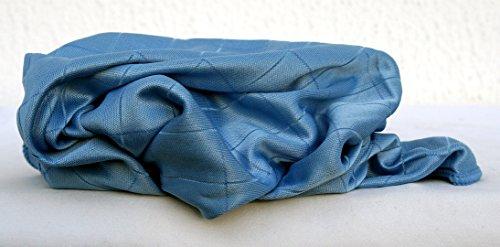 Dekantertuch Mikrofaser Glaspoliertuch blau 50 x 60 cm (10er Pack)