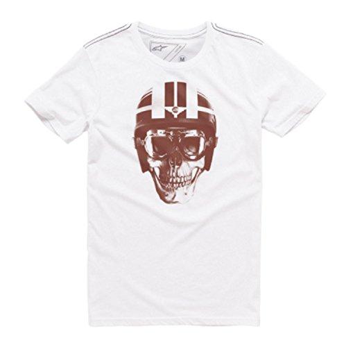 Herren T-Shirt Alpinestars Lid T-Shirt White