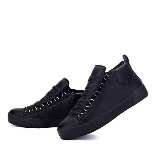 Hommes Chaussures de sport Mode Antidérapant imperméable Respirant Chaussures plates Black