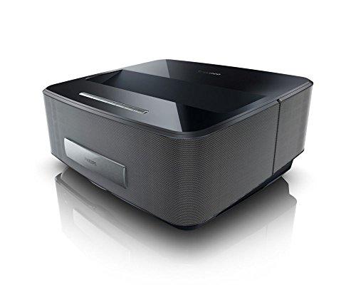 Philips HDP1690TV Screeneo LED-Projektor (VGA/SVGA, WXGA, Kontrast: 100000:1, 1280x800 Pixel, 1000 ANSI Lumen, TNT Tuner) schwarz