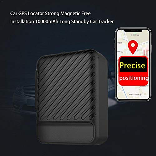 Goodtimera GPS Tracker, 150 Tage Lang Standby GPS Ortung, Wasserdicht Echtzeit Tracking GPS Locator, Professional Anti-verloren,GPS Alarm Car Tracker Für Auto LKW Moto Gefrier Boot Mit Freier APP