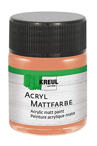 Acryl Mattfarbe Terracotta 50 ml