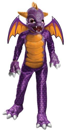 (Rubie's 3 880039 L - Spyro Deluxe Kostüm, Größe L, lila)
