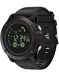 Carremark Zeblaze Vibe 3 Montre de Sport Bluetooth Smart Watch pour Homme Noir