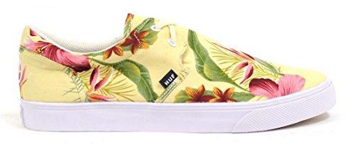 HUF, Scarpe da Skateboard uomo Ivory Floral Bianco (Ivory Floral)