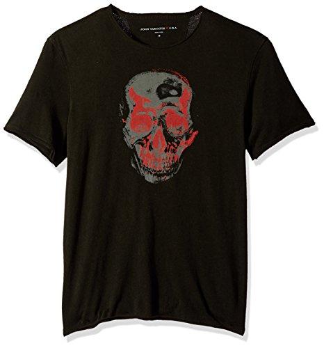 John Varvatos Star USA Men's Skull Graphic T-Shirt