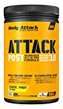 Body Attack Post Workout Shake POST ATTACK 3.0 I Workout All in One Formula I Maltodextrin, Whey Protein, BCAA, CREAZ, L-Glutamin I Muskelaufbau & Regeneration I 900g (Exotic Fruit)