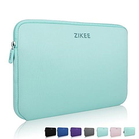 Zikee 15,6 Zoll Ultradünne, Stärkste Neopren Wasserfeste Schutzhülle für Laptops / Ultrabooks in Vielen Farben erhältlich