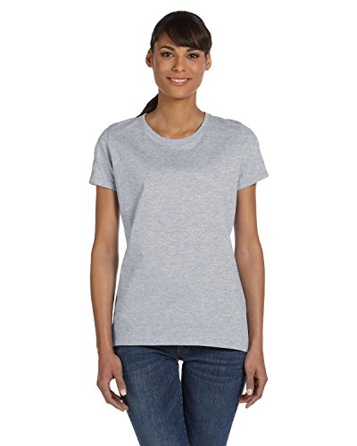 Fruit of the Loom s Women'HDTM Heavy Cotton T-Shirt Athletic Heather