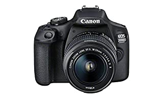 Canon EOS 2000D DSLR Camera and EF-S 18-55 mm f/3.5-5.6 IS II Lens, Black (B07B1B265L) | Amazon price tracker / tracking, Amazon price history charts, Amazon price watches, Amazon price drop alerts