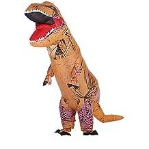 Anself - Divertido Disfraces Inflable de Dinosaurio