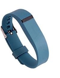 Fulltime(TM) Bracelet de rechange avec boucle en métal pour Fitbit Flex