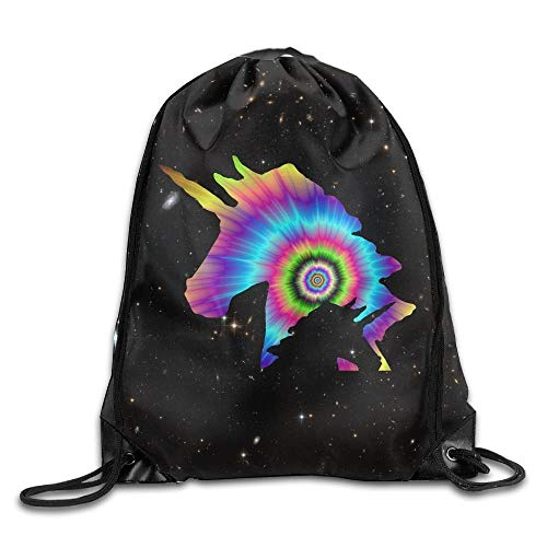 DHNKW Rainbow Graffiti Paint Chicken Multifunction Sackpack Sport Bags Sports Drawstring Backpack Bags Chicken Music Box