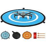 CHUER Drone Landing Pad, Universal Waterproof (D 75cm/30) Landing Pad Pieghevole Portatile per Elicotteri RC Drone, Droni PVB, DJI Mavic PRO Phantom 2/3/4 PRO, Antel Robotic