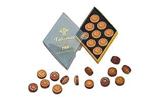 """Embout en cuir collé «hard talisman pRO 13 """"- cuir de porcin mm"""