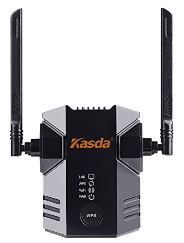 Kasda KW5583 11N WiFi Range Extender 300Mbps with 2 External Antennas wifi booster wifi repeater  available at amazon for Rs.4206