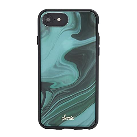 iPhone 8 - iPhone 6, Sonix JADE Marble Luxe Cell Phone Case (Pink, Blue, White) - Military Drop Test Certified - Retail Packaging - Sonix Marble Luxe Series for Apple (4.7