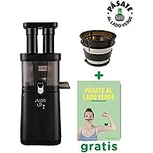 JUISS UP! Extractor de zumos verdes Coldpress 4a Generación (30rpm) + Filtro de