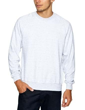 Fruit of the Loom 3 Pack Raglan Men's Sweatshirt Black/Navy/Heather Grey X-Large