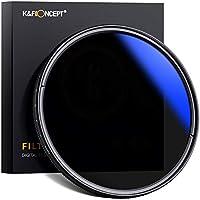 K&F Concept 58mm Filtro ND Variable ND2~ND400 para Objetivo 58mm con Funda (9 Pasos)
