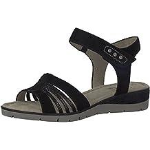 new arrival dd6c8 6e93a Suchergebnis auf Amazon.de für: jana sandalette schwarz schwarz