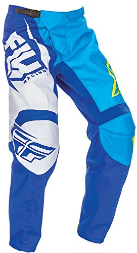 Fly Racing Kids Cross Hose F-16 Blau Gr. 26 (Dirt 42 Bike Hose)