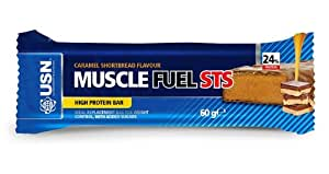 USN Muscle Fuel 12 Barres STS 60 g