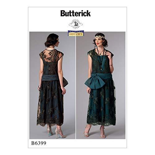 Butterick Patterns Butterick 6399A5Schnittmuster Kostüm, mehrfarbig, Größen 6-14 (Butterick Patterns Kostüm)
