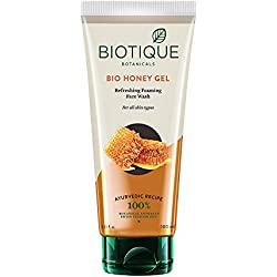 Biotique BIO Honey Gel Face Wash for All Skin Types, 100 ml