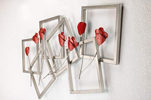 Kunstloft Scultura Da Parete In Metallo Lettera Da Amore 97x50x6cm