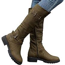 Ver todos los resultados de calzados marypaz botas. ❤ Botas de Tubo Alto para Mujer, Rodilla Botas Altas Biker Botas para Mujer