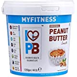 MYFITNESS Peanut Butter Smooth 2.5kg (1.25kg X Pack of 2)