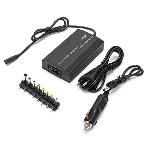 11 stücke Universal 100 Watt DC AC Auto Notebook Laptop Ladegerät Adapter Netzteil Universal-dc-auto