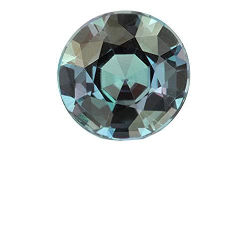 Pietra preziosa alessandrite naturale con forte cambia colore-ottima qualità-2mm-con valore expertise