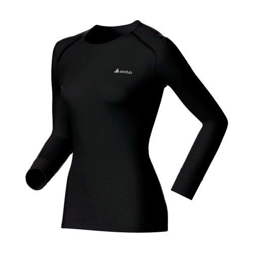 Odlo Warm T-Shirt manches longues Femme Noir