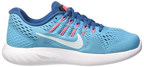 Nike Damen Wmns Lunarglide 8 Laufschuhe Blau (Chlorine Blue/glacier Blue)
