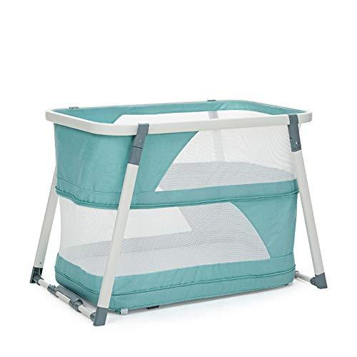 BCB Falten Reisebett von Geburt an 103 x 64 x 70 cm, Universal-Moskitonetz für Babybett