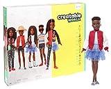 Creatable World GGG55 - Deluxe Charakter Set, individuell gestaltbare Puppe mit schwarzen,...