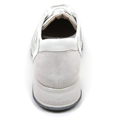 Hogan, Sneaker Da Donna Bianco Bianco / Argento