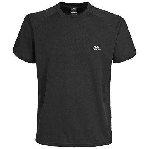 Trespass Herren Colt T-Shirt Schwarz - Schwarz