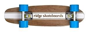 Ridge Skateboards Maple Mini Cruiser- NR4 Skateboard, Blu