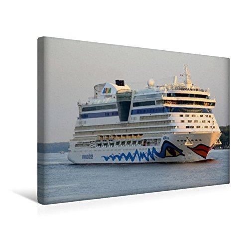 Preisvergleich Produktbild Premium Textil-Leinwand 45 cm x 30 cm quer, AIDAluna | Wandbild, Bild auf Keilrahmen, Fertigbild auf echter Leinwand, Leinwanddruck (CALVENDO Orte)