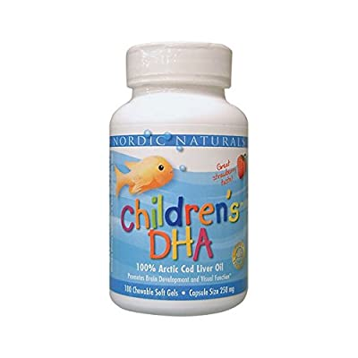 Ultimate Omega Children's DHA Formula 250mg - Strawberry (same as DHA Junior) - 180 - Softgel from Nordic Naturals