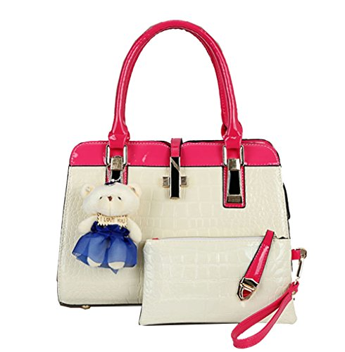 Yan Show, Borsa a tracolla donna verde Green Rose Red