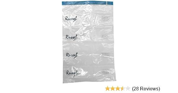 60 X 40cm Travel Roll Vacuum Storage Bags Set Of 2 H /& L Russel Ltd